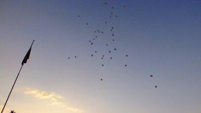 Вшанування пам'яті воїнів збитого у Луганську ІЛ-76